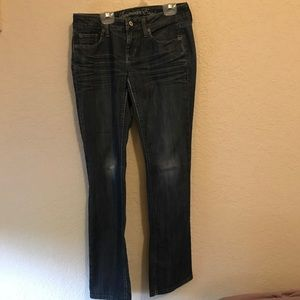 American Eagle Dark Boot Cut Jeans